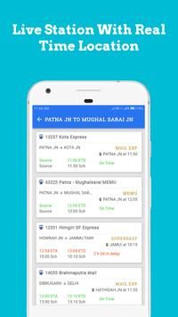Live Train Status, Confirm Train Seat & PNR Status screenshot 2