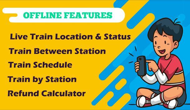 Live Train Status, Confirm Train Seat & PNR Status screenshot 3