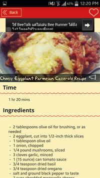 Eggplant Parmesan Recipes screenshot 8