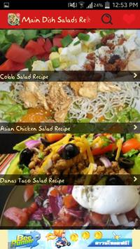 Main Dish Salads Recipes apk screenshot