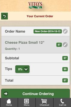 Vito's Pizza, Pasta and Grill screenshot 3