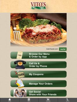 Vito's Pizza, Pasta and Grill screenshot 6