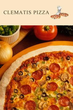 Clematis Pizza poster