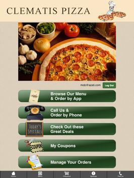 Clematis Pizza apk screenshot