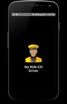 MyRideCiti Driver poster