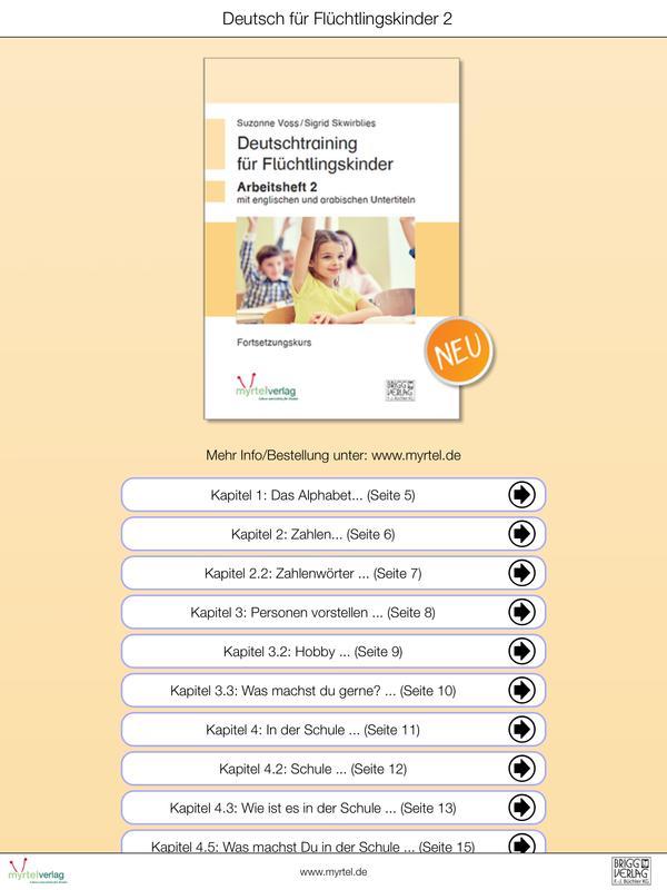 Deutsch für Flüchtlingskinder2 APK Download - Free Education APP for ...