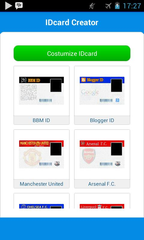 Android Apk Id Creator Card For Download -