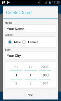 ID Card Creator screenshot 1