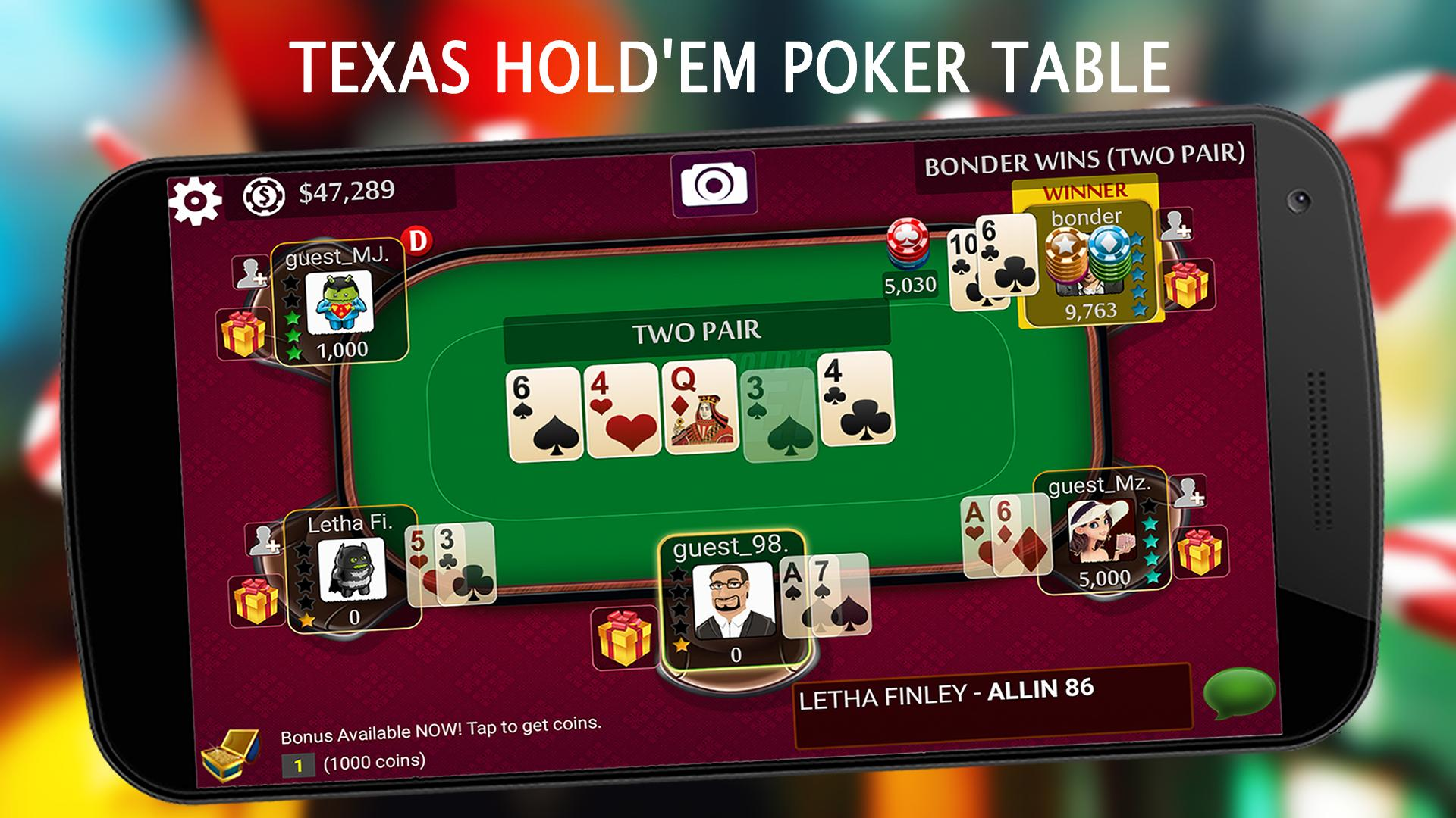 Texas Holdem Poker Free Live For Android Apk Download
