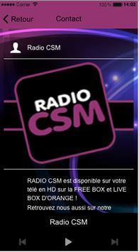 Radio CSM apk screenshot