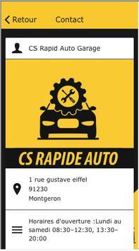 CS Rapid Auto Garage screenshot 2