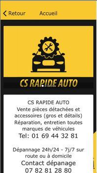 CS Rapid Auto Garage screenshot 3