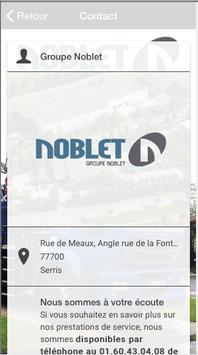 Groupe Noblet screenshot 1