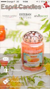 Esprit Candles poster