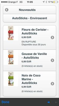 Esprit Candles apk screenshot