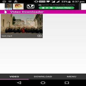 HD Video Downloader apk screenshot