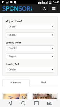 Sponsortome - Dating & Chat screenshot 2