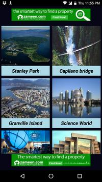 Attractive Places In Vancouver poster