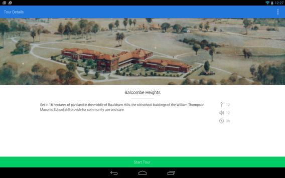 The Hills Shire Walking tours screenshot 10