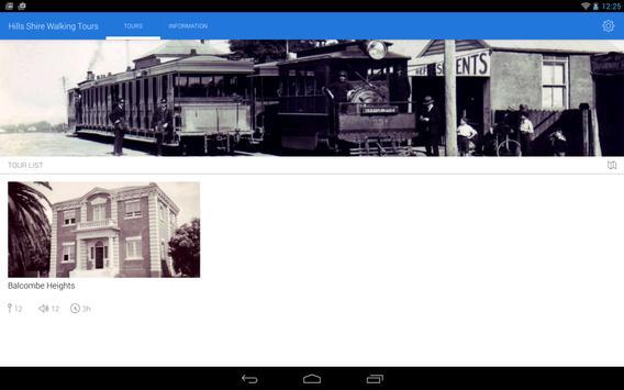 The Hills Shire Walking tours screenshot 5