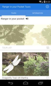 Ranger in your Pocket Tours poster