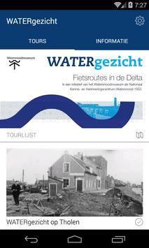 WATERgezicht poster
