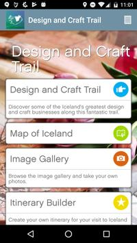 Iceland Creative Trails poster