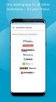 tolino - eBook reader and audiobook player app poster
