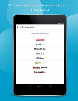 tolino - eBook reader and audiobook player app apk screenshot