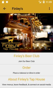 Finley's Taphouse poster