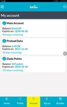 My Telkom screenshot 2