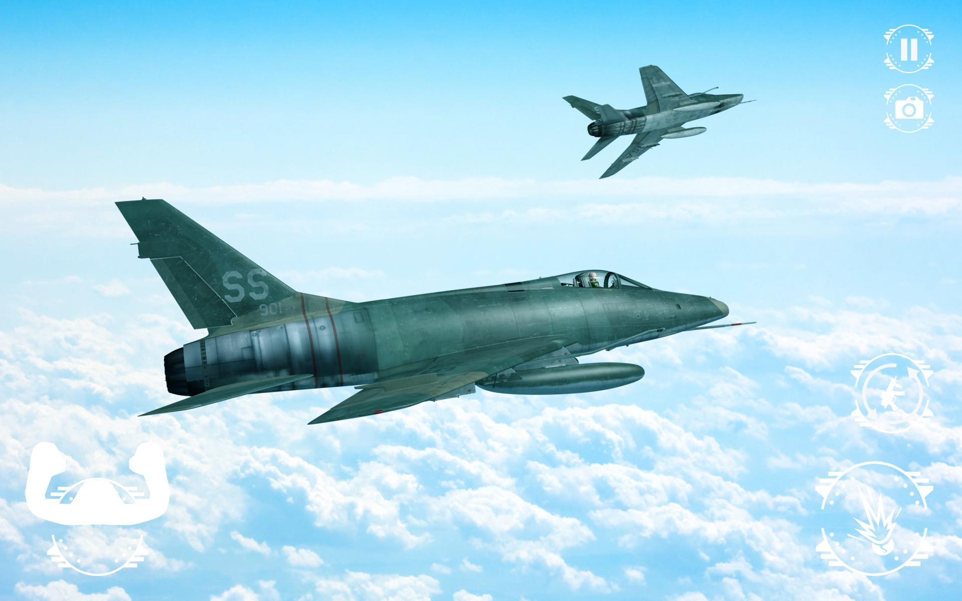 Plane Fighting Games >> Modern Air Combat Strike Jet Fighting Plane Games For Android Apk