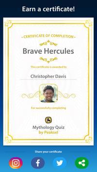 Mythology Quiz screenshot 4