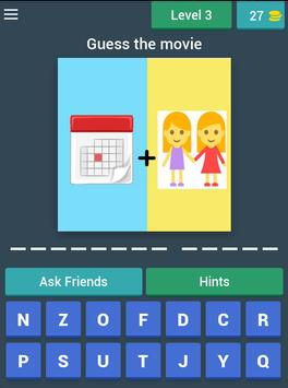 Easy picture word movies game screenshot 15