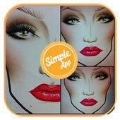 Makeup Pictures (face, eye, lip) icon