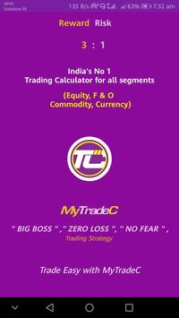"MyTradeC - "" MOST WANTED "" CALC  IN NSE & MCX poster"