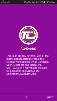 "MyTradeC - "" MOST WANTED "" CALC  IN NSE & MCX apk screenshot"