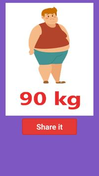 Weight Scanner Test Prank apk screenshot