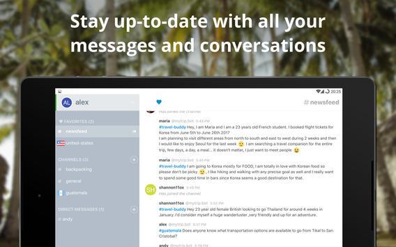 MyTripChat - Trip Messenger screenshot 11