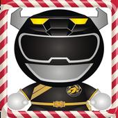 Black Ranger Run Adventure icon