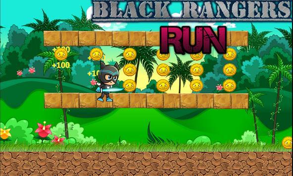 Black Ranger Run Adventure apk screenshot