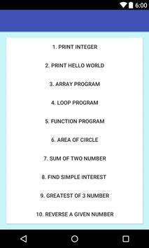 C Programming - for beginners screenshot 1