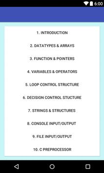 C Programming - for beginners screenshot 2