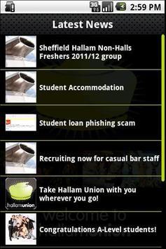 Hallam Union screenshot 2