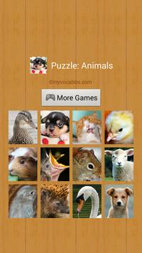 Puzzle: Cute Animals poster