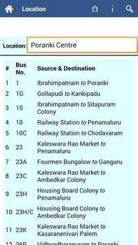 Vijayawada Bus Info screenshot 3