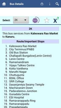 Vijayawada Bus Info screenshot 1