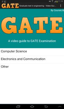 GATE - Video Guide poster