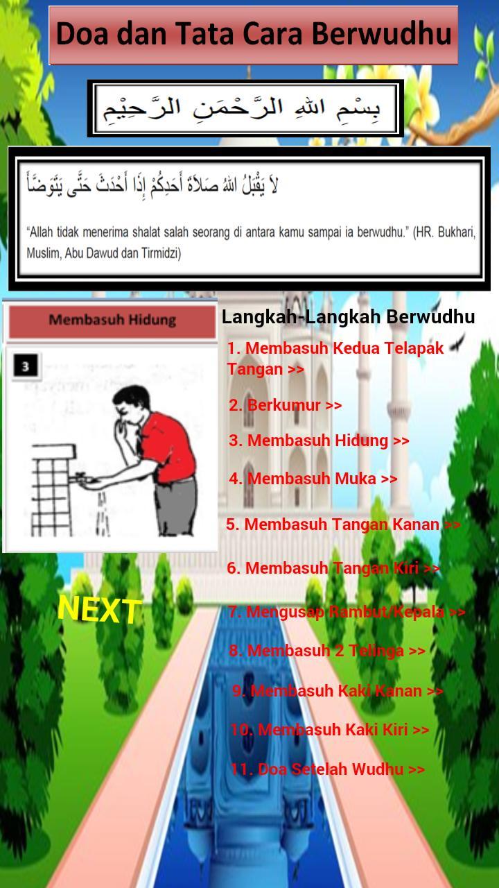 Doa Dan Tata Cara Berwudhu For Android Apk Download