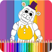 Coloring Book Five Nights Kids APK